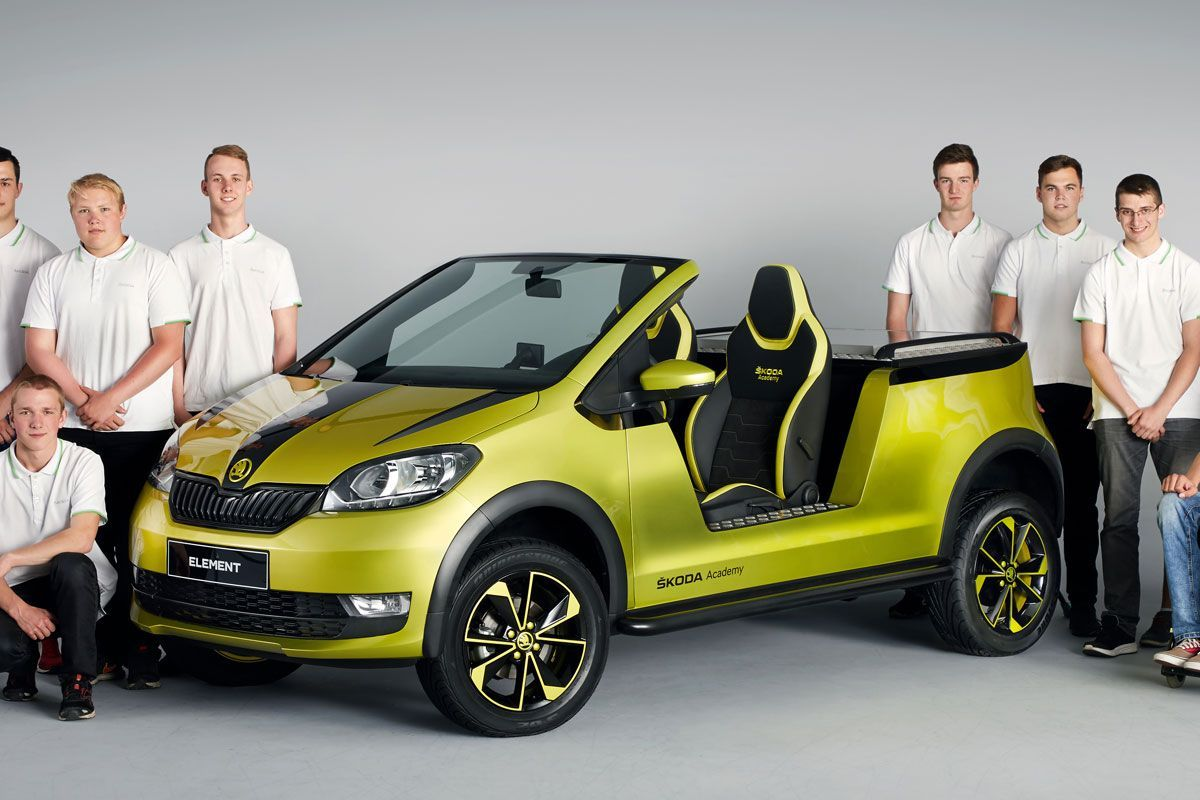 Skoda Element Project By The Skoda Academy Beach Buggy Electric