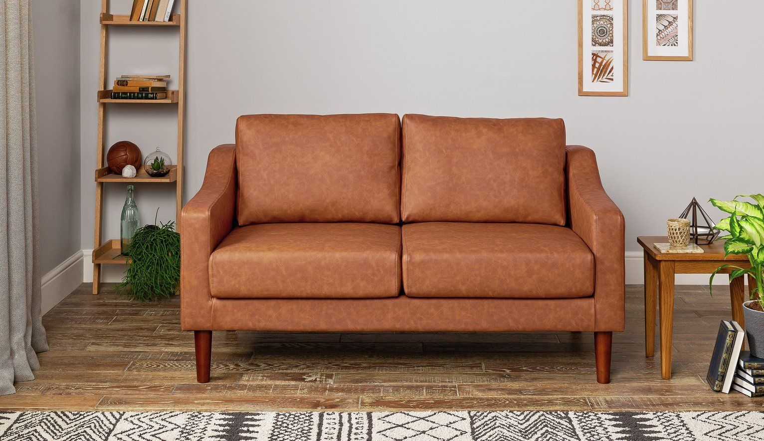 Pin By Sallie Ptak Sofa Cushions Sps On Living Room In 2020 Faux Leather Sofa Argos Home Leather Sofa