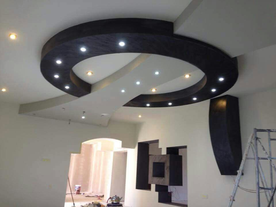 Design faux plafond salle du bain Ceilings, Ceiling and Bed room