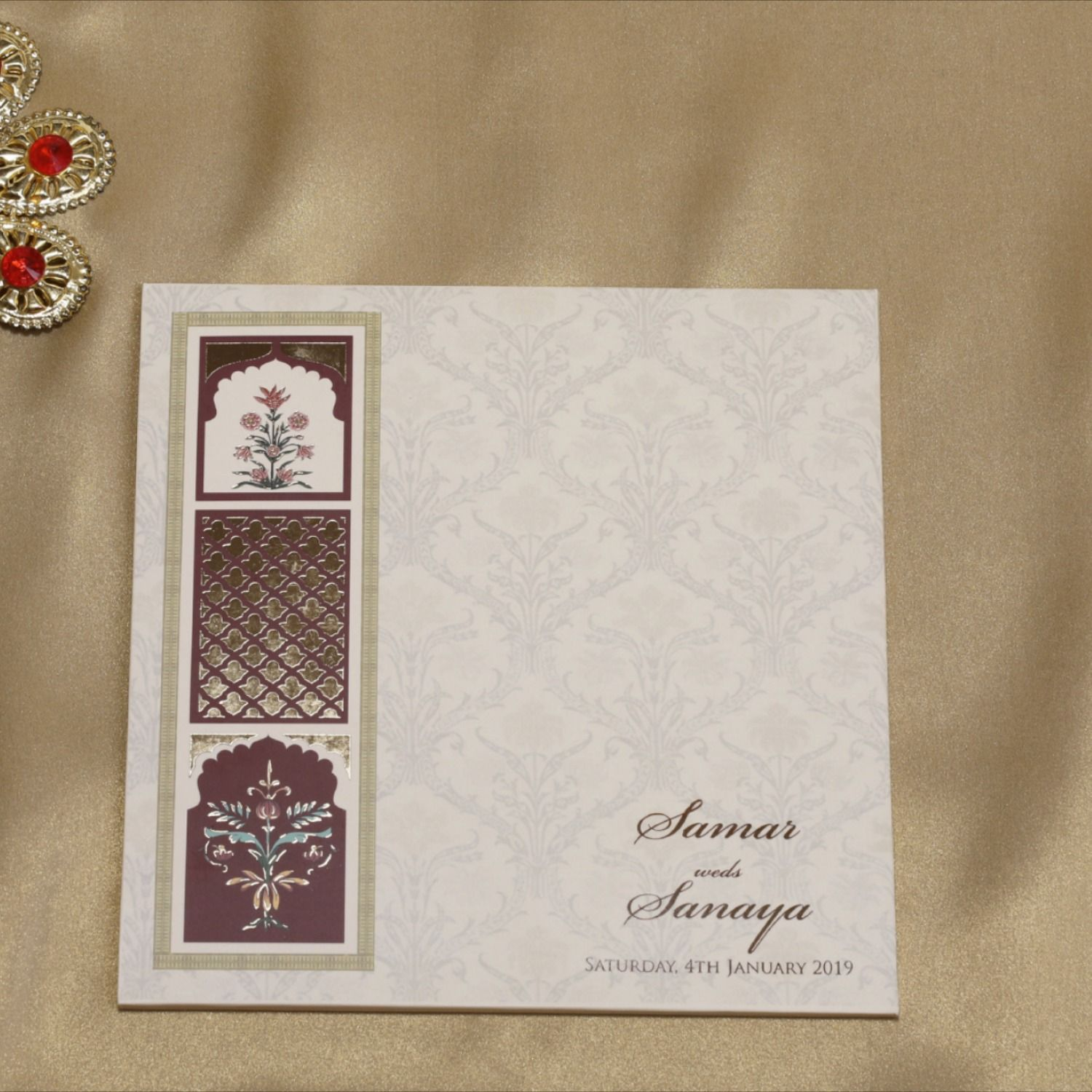 Shop an exclusive collection of #WeddingCards, #IndianWeddingCards from #MudrikaaPrints.  We have the best #weddinginvitationcard designers in Bangalore.  #Wedding #Marriage #MarriageCard #Invitation #ShaadiCard #IndianCard #Shaadi #Card