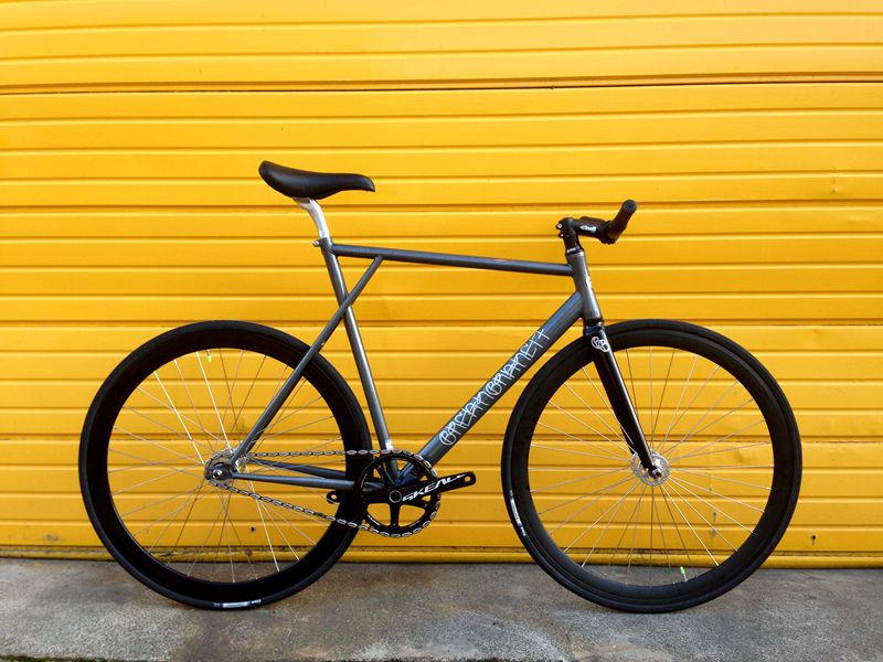 Bb17 Transfer 2014 Low Pro Track Fixie Single Speed Bike Pearl