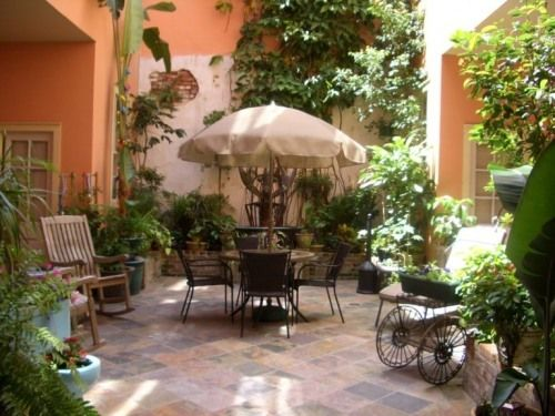 New Orleans Style Courtyards Yahoo