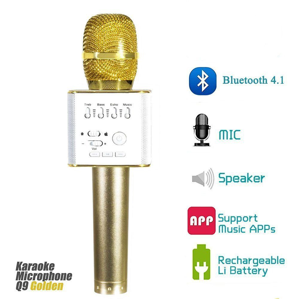 Wireless Microphones Karaoke for Music Playing and Singing