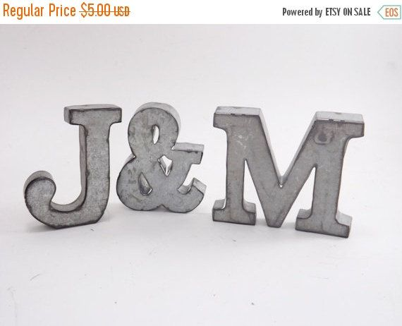 FARMHOUSE Letters,Metal Letters,Rustic Letters,Rustic Home Decor,Metal Wall  Letters