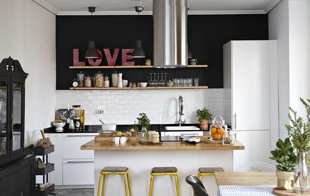 Piccolo Open Space Cucina Soggiorno Ikea - The Homey Design