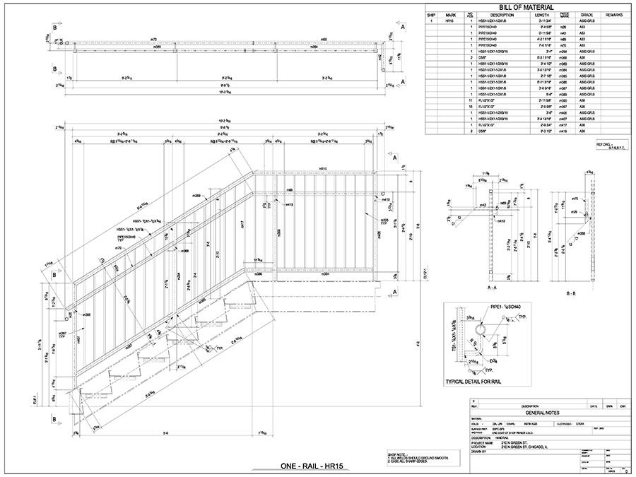 At Cad Outsourcing Shop Drawings Are Engineered For Ease Of
