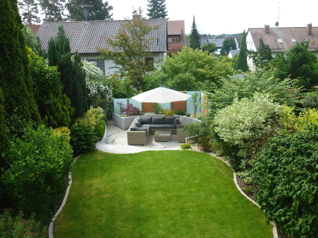 Gartengestaltung Kleiner Garten Sichtschutz Garten ...