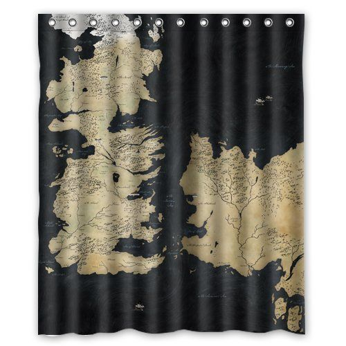 Game Of Thrones Custom Shower Curtain 60 X 72 Curtains Custom Shower Curtains Shower Curtain