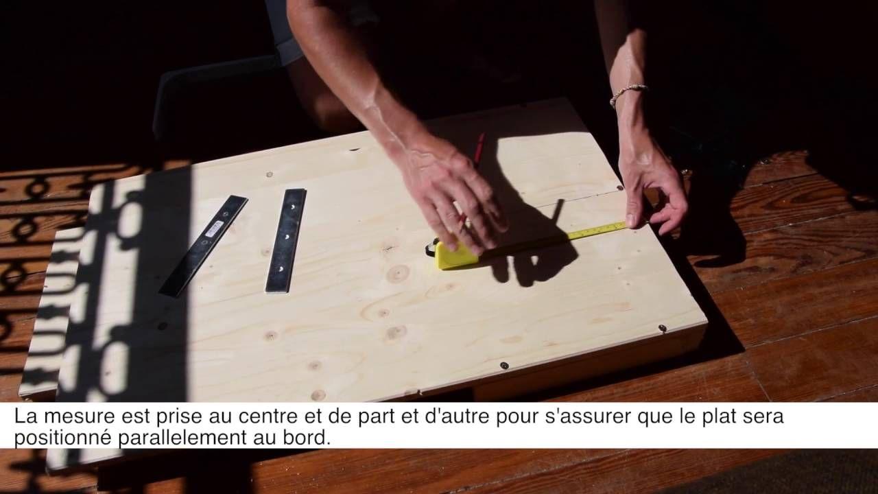 Voici la vidéo de tutoriel pour fabriquer son propre Terrasse Top. Plus d'explications sur http://terrassetop.fr/.