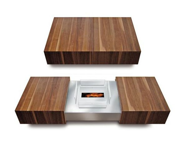 Coffee Table Fireplace if it's hip, it's here: modern matchbox coffee tableschulte