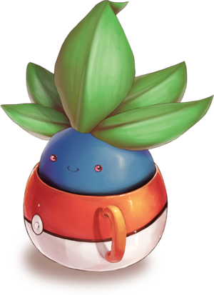 Oddish in a Cup/ photo reference to redraw, maybe with