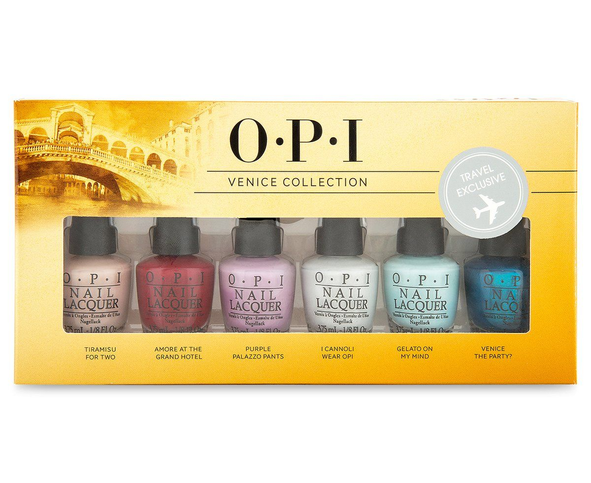 OPI Venice Collection 6Piece Nail Lacquer Set Classic