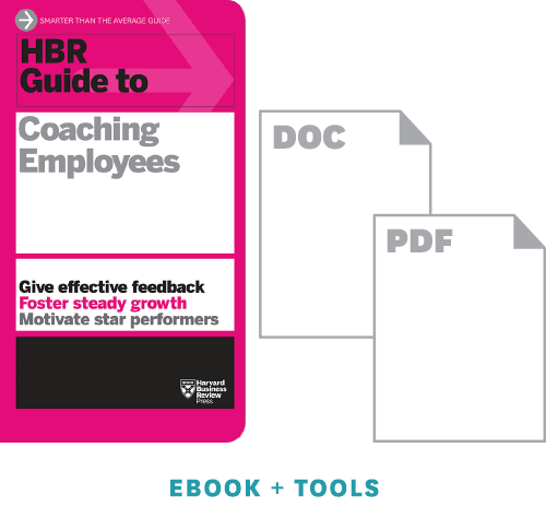 Hbr Guide To Coaching Employees Ebook Tools 13990h Leadership This Or That Questions Coaching