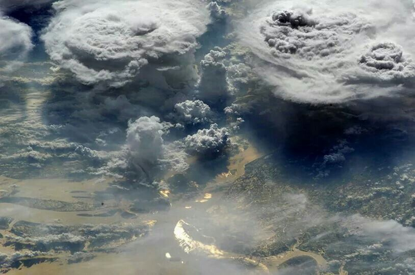 Discovery Channel Australia. NASA photo from international space station.