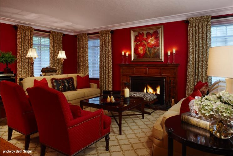 Living Rooms With Red Accents Google Images Living Room Red Brown Living Room Decor Living Room White