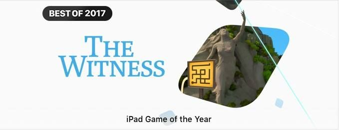 App Store Best of 2017 iPad Game of the Year The Witness