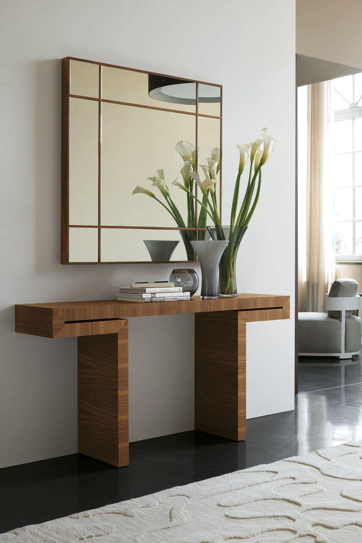 Consolas de madera modernas buscar con google decoracion - Consolas recibidor modernas ...