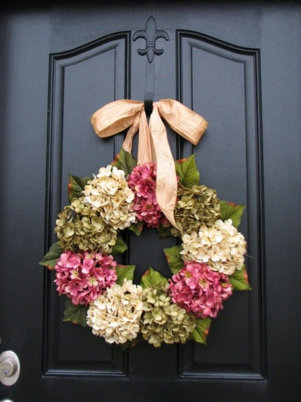 Türkranz Modern türkranz design modern blumen aufreihen wreaths