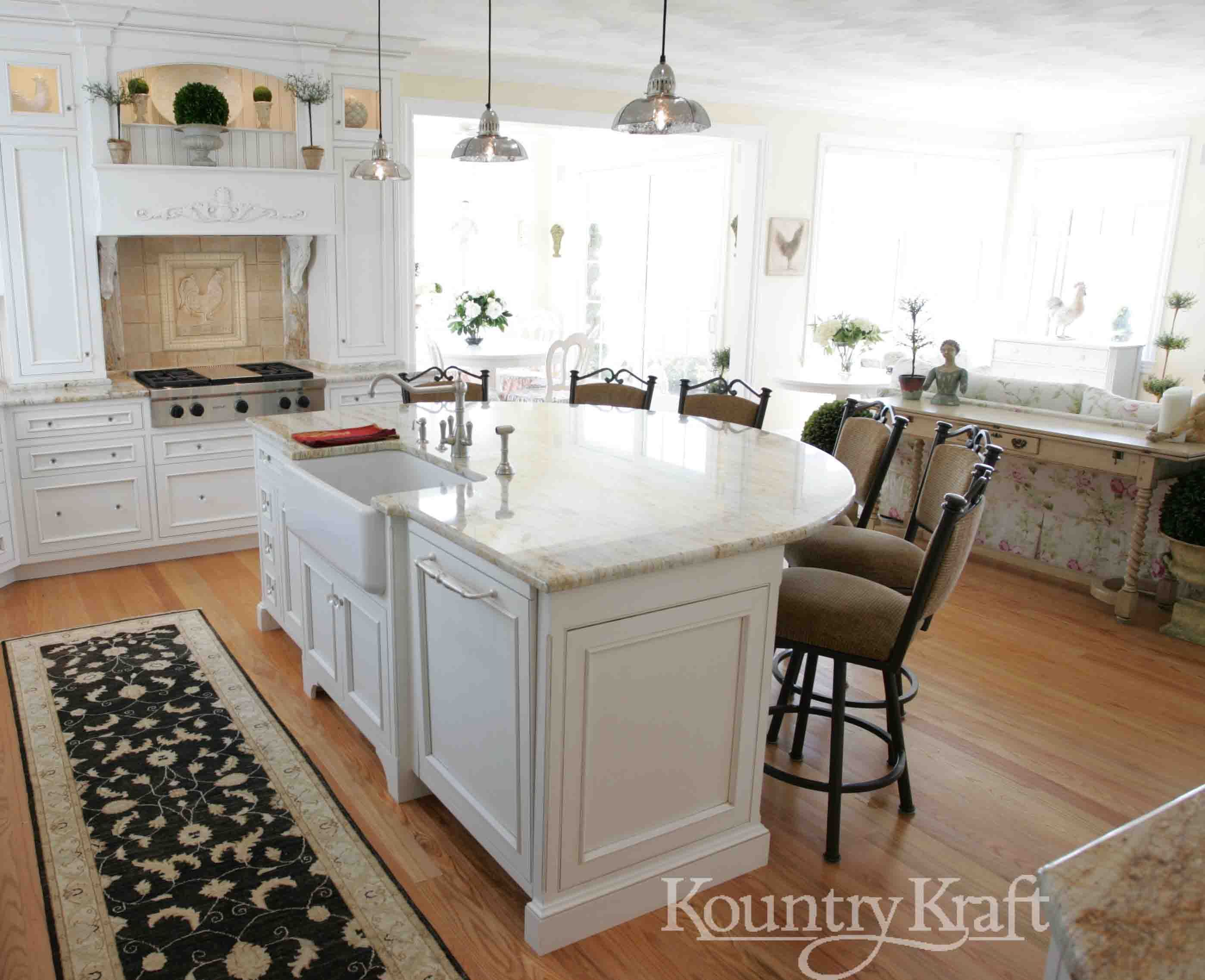 Custom Shaker Cabinets In Old Saybrook Ct Custom Kitchen Cabinets Custom Kitchen Island Custom Kitchen Cabinets Design