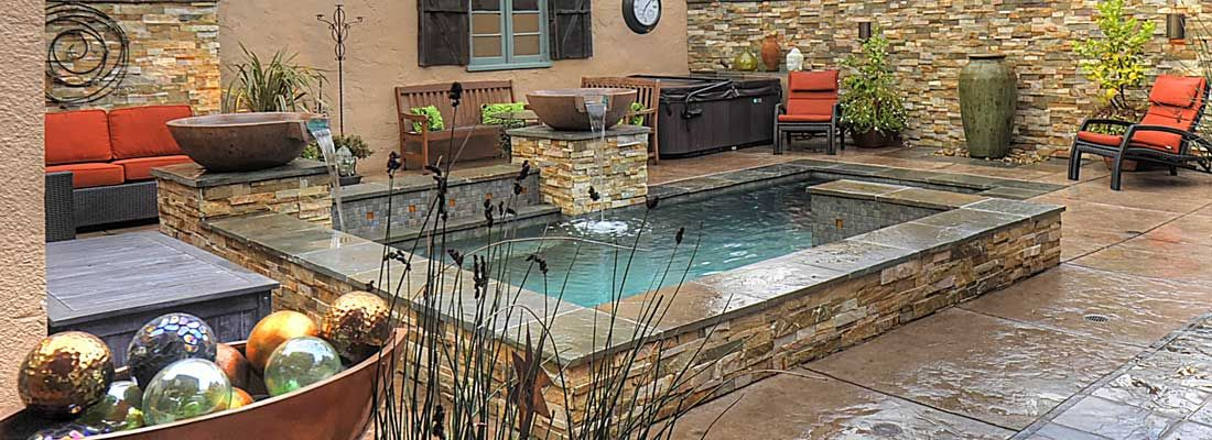 Small Pools Premier Pools And Spas Pools For Small Yards Small Pools Small Pool