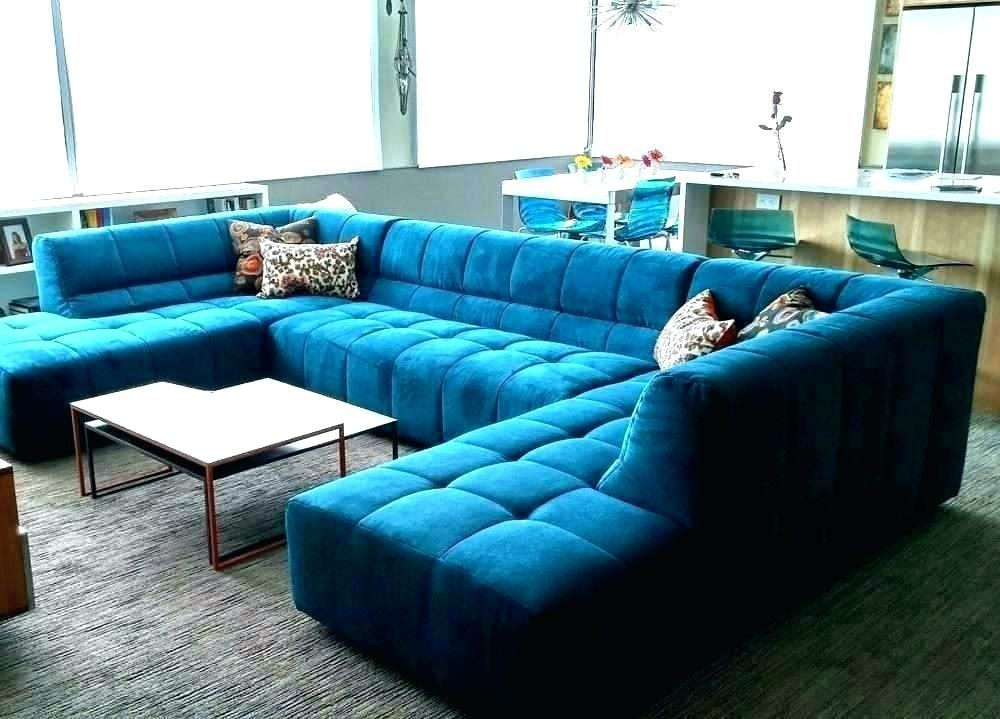 Turquoise Blue Sectional Sofa In 2020 Luxury Sofa Design Living Room Sofa Design Modern Sofa Living Room