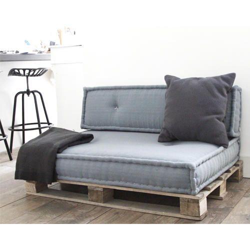 Matraskussens pallet loungebed maken Werkspot | Palletbank