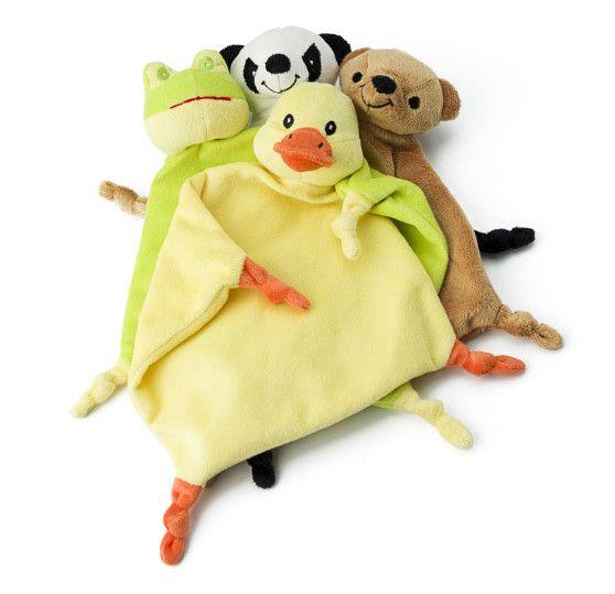 Plüsch-Schnuffeltuch Relax aus 100% Polyester