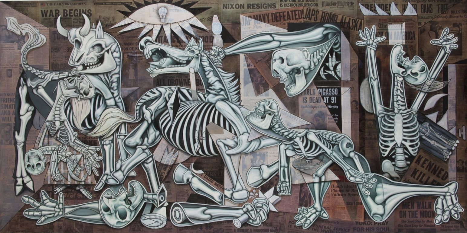 X Ray Guernica By Ron English