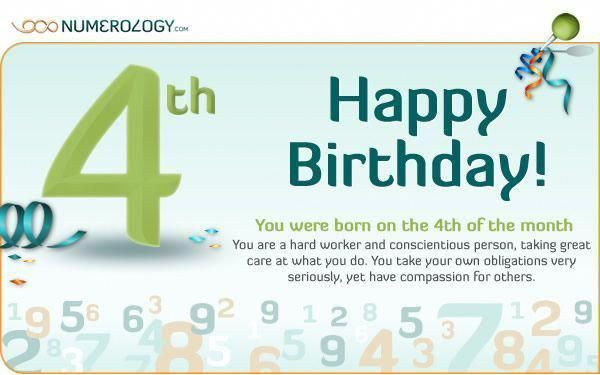 4 numerology day