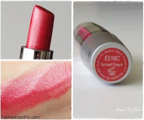 Wet 'n' Wild Silk Finish Lipstick Sunset Peach shade (#516C). #makeup #wetnwild #sunsetpeach