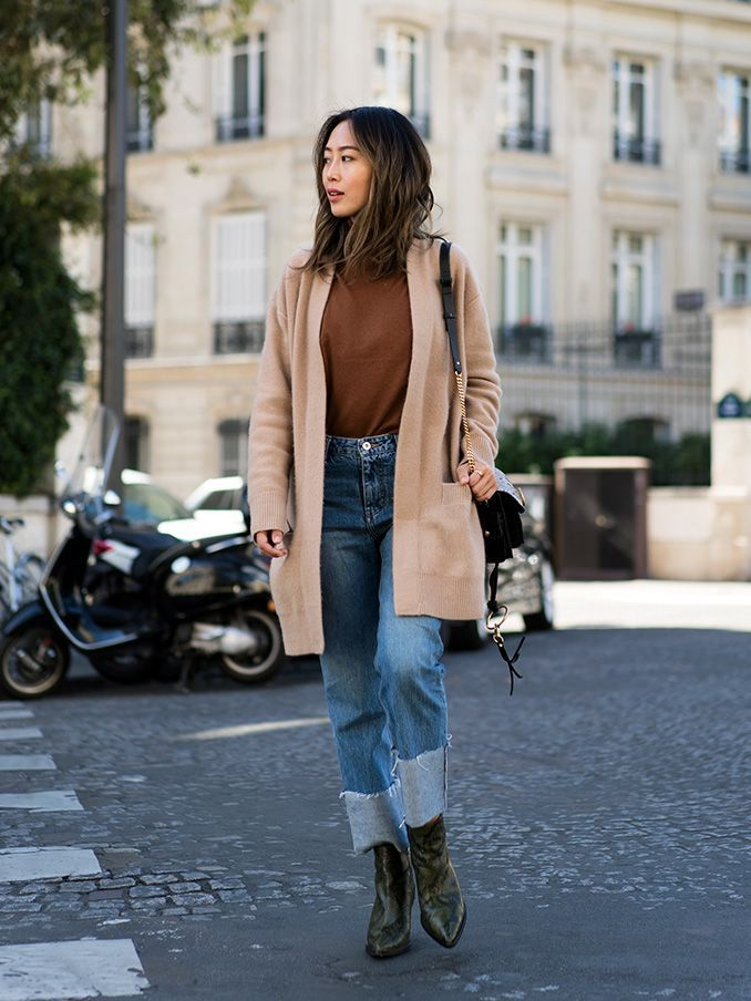 A stylish and sophisticated camel look works every time. Elevate an all black look by layering over a camel coat, or pair a tan trench over a ribbed sweater dress and accessorise with a cream bag...