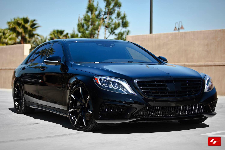 MercedesBenz Sclass on Lexani Wheels. Mercedes benz