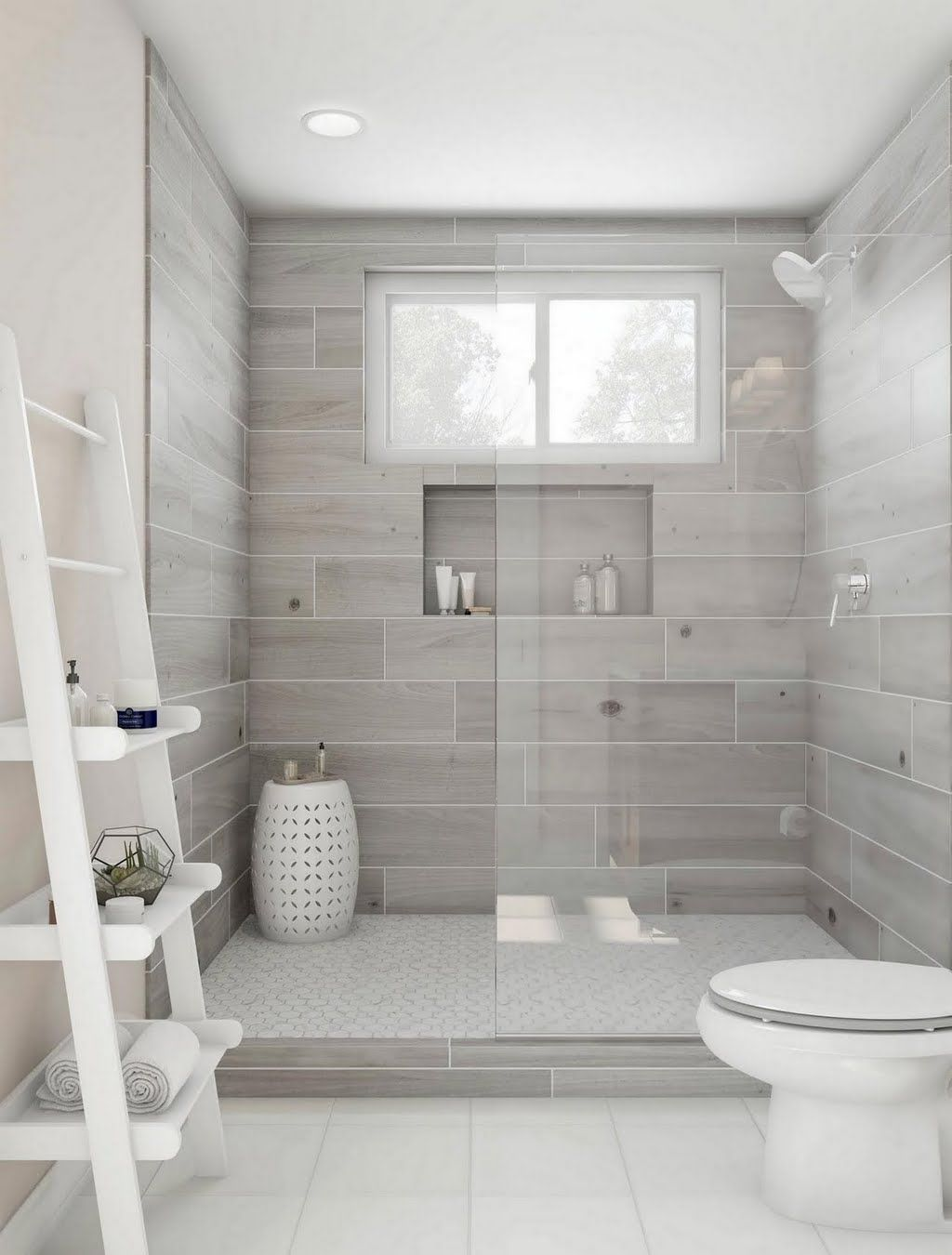 home depot bathroom tile ideas havenwood platinum 8 in x 36 in glazed porcelain floor and wall tile 14 sq ft case 4799