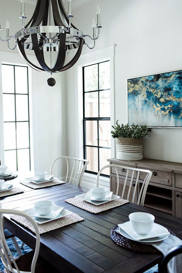Design Crush Series Featuring Allegiance Builders  Dining Room Enchanting Dining Room Wall Trim Decorating Inspiration