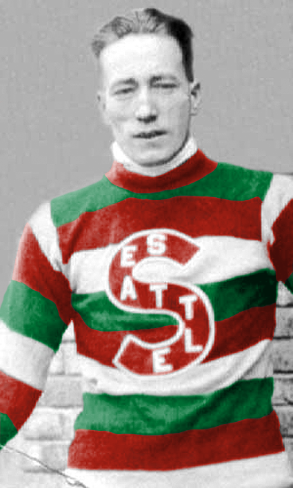 d569f2483 ICE HOCKEY  Seattle Metropolitans 1916-17 jersey BernieMorris  colorized