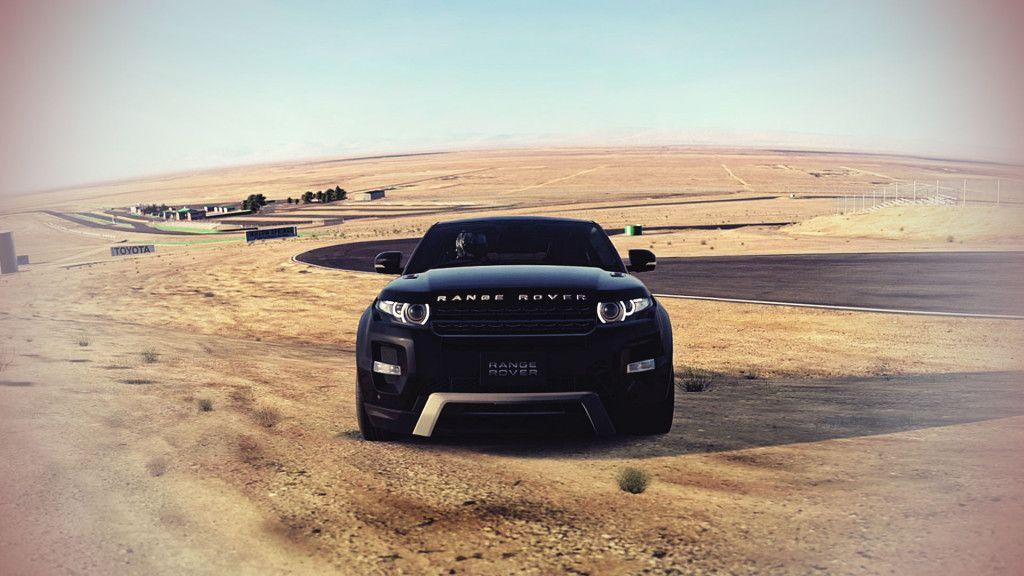 Land Rover Range Rover Evoque Off Road Car Wallpaper