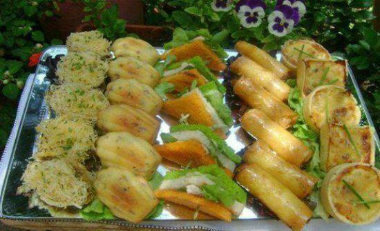 Madeleines sal es facile choumicha cuisine marocaine for Entrees froides festives