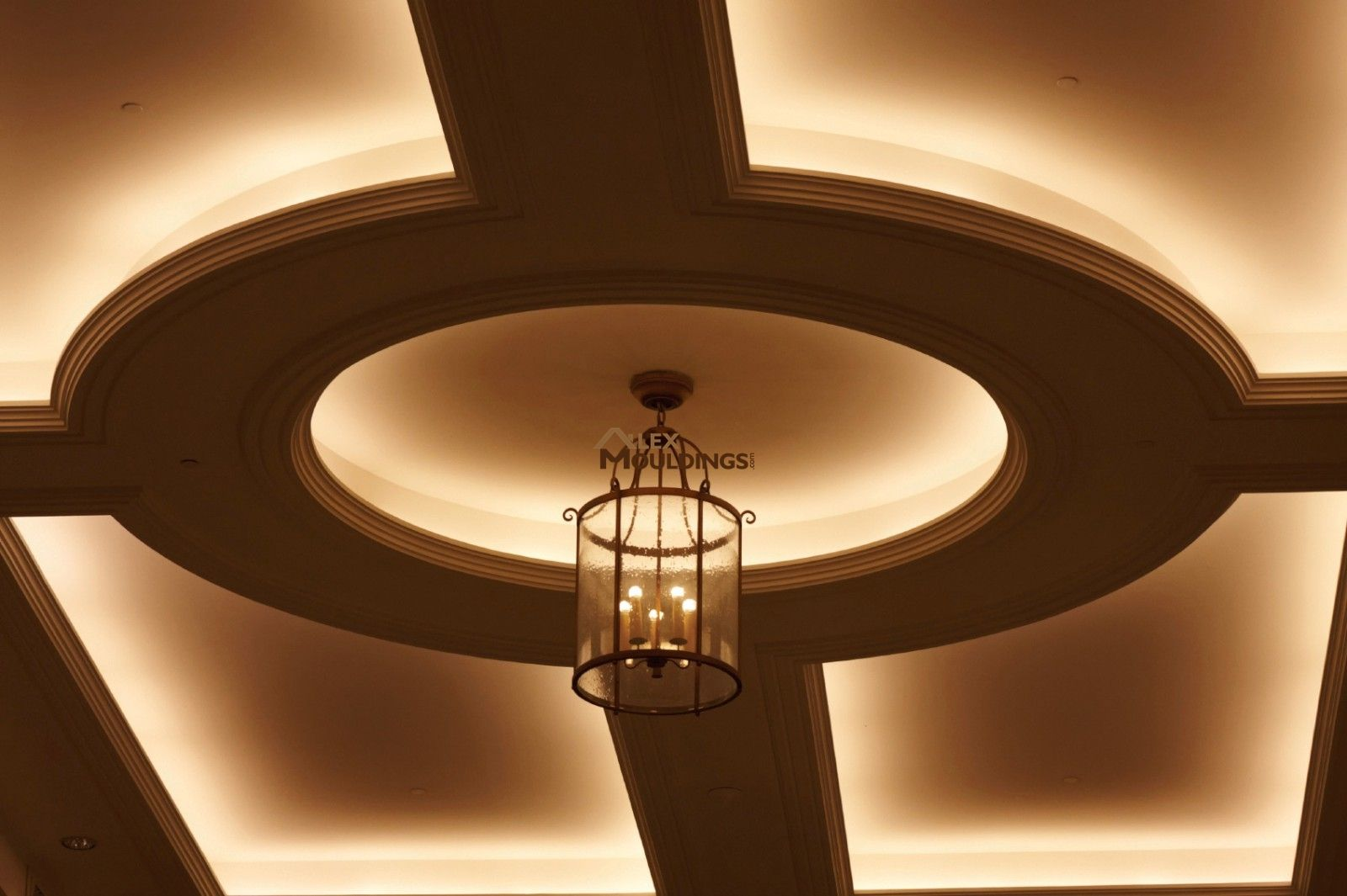 ceiling cove lighting. Circle With Cove Lighting On Ceiling Medalion E