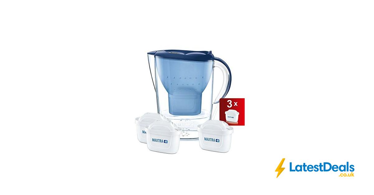 Brita Marella Cool Water Filter Jug And Maxtra Cartridges Starter Pack 19 29 At Amazon Filter Jug Brita Marella Water Filter Jugs