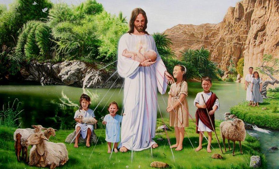 могут иисус в раю картинки последнее время