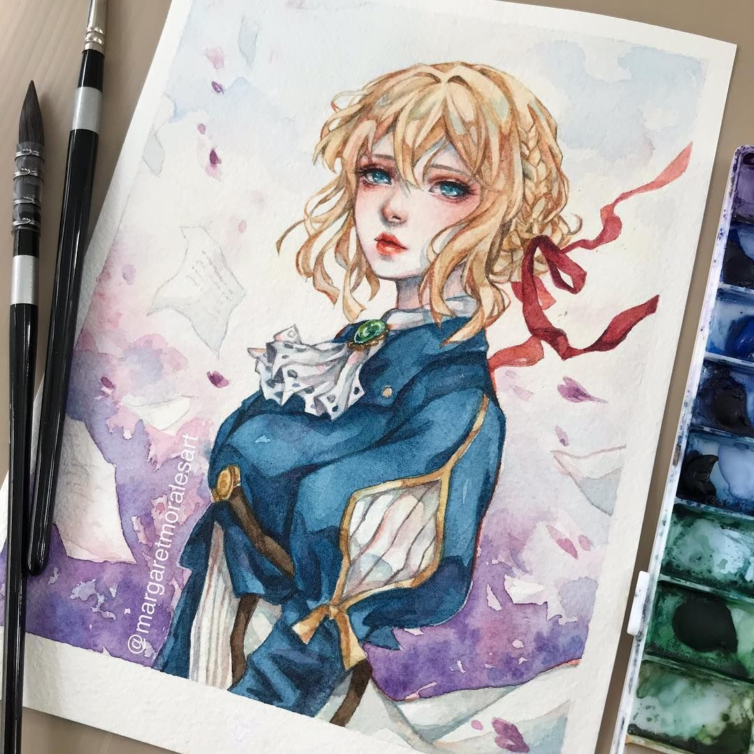 Finished My Version Of Violet Evergarden For An Early February