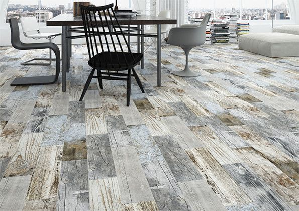 Rustic Wood Effect Tile! £3.26 Per Tile. Weathered Multi 150mm X 600mm