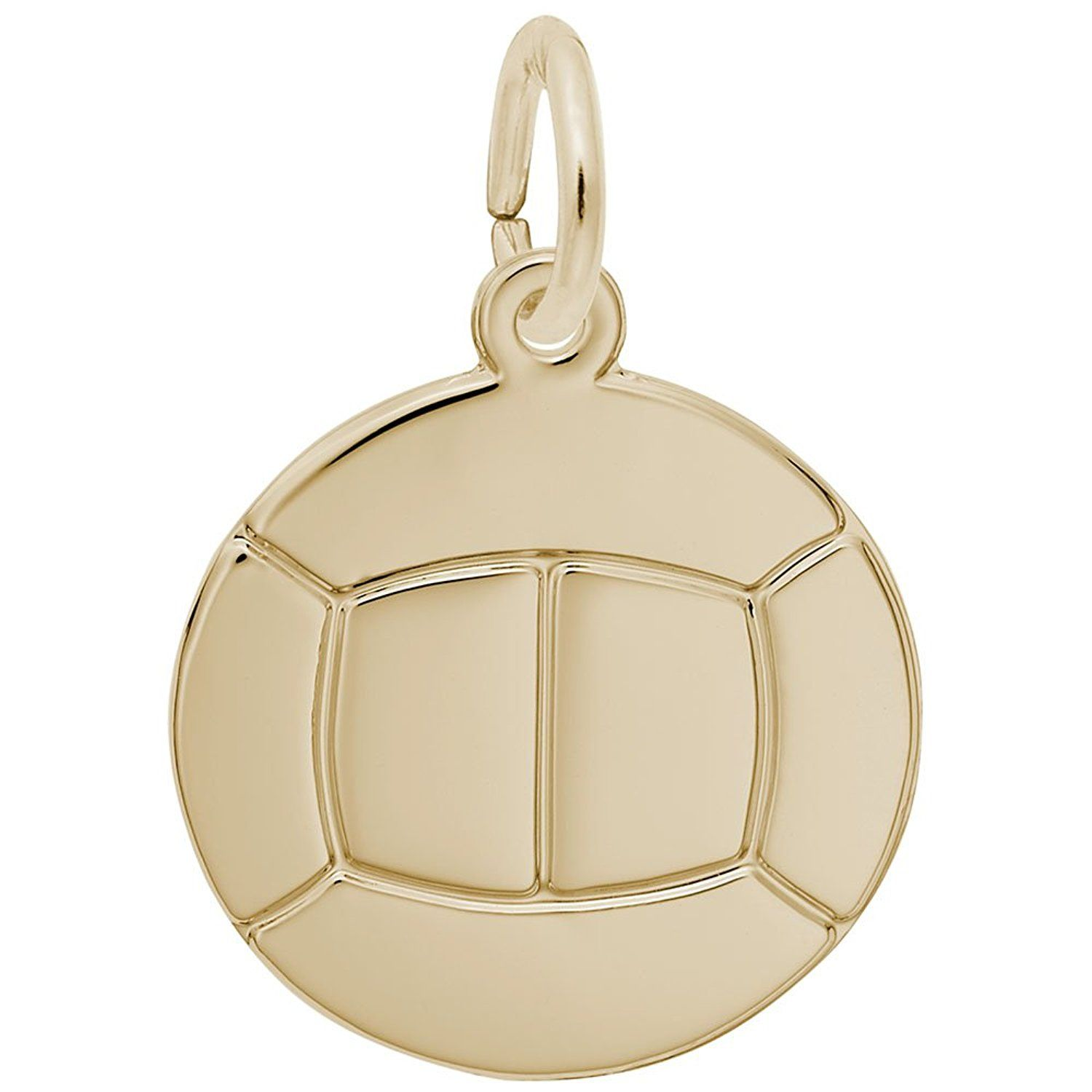 Volleyball Charm Charms For Bracelets And Necklaces Click Image To Review More Details This Is An Affiliate Link Jewelryfors Gold 10k Gold Fine Charms