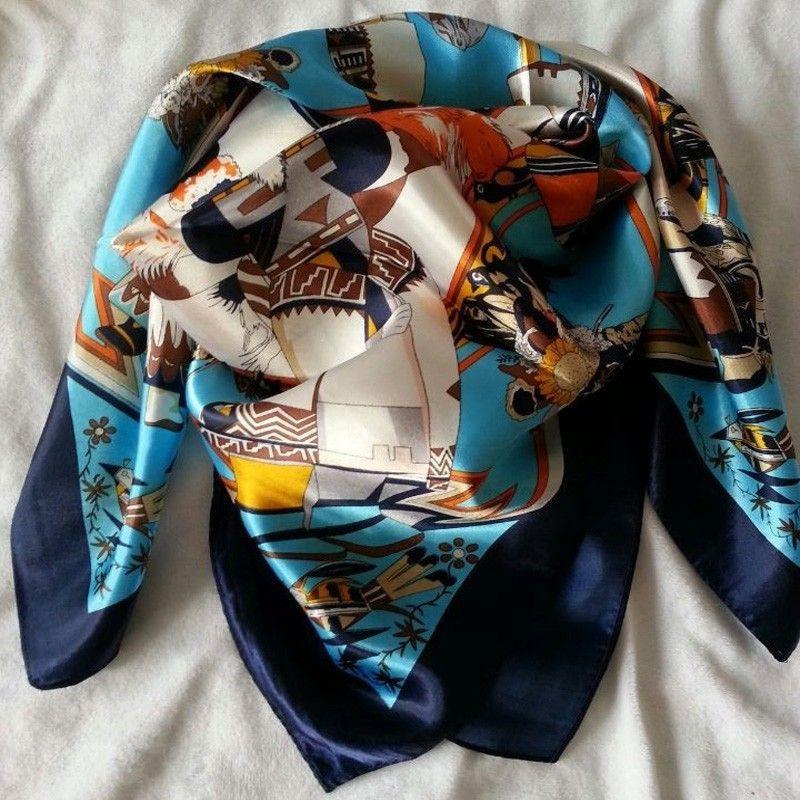 282bf70dfbe09 Chanel Original Schal Tuch Seide Silk günstig billig gut kaufen ...