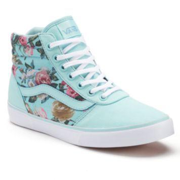 38e465317f925f Vans Milton Women s High-Top Skate Shoes