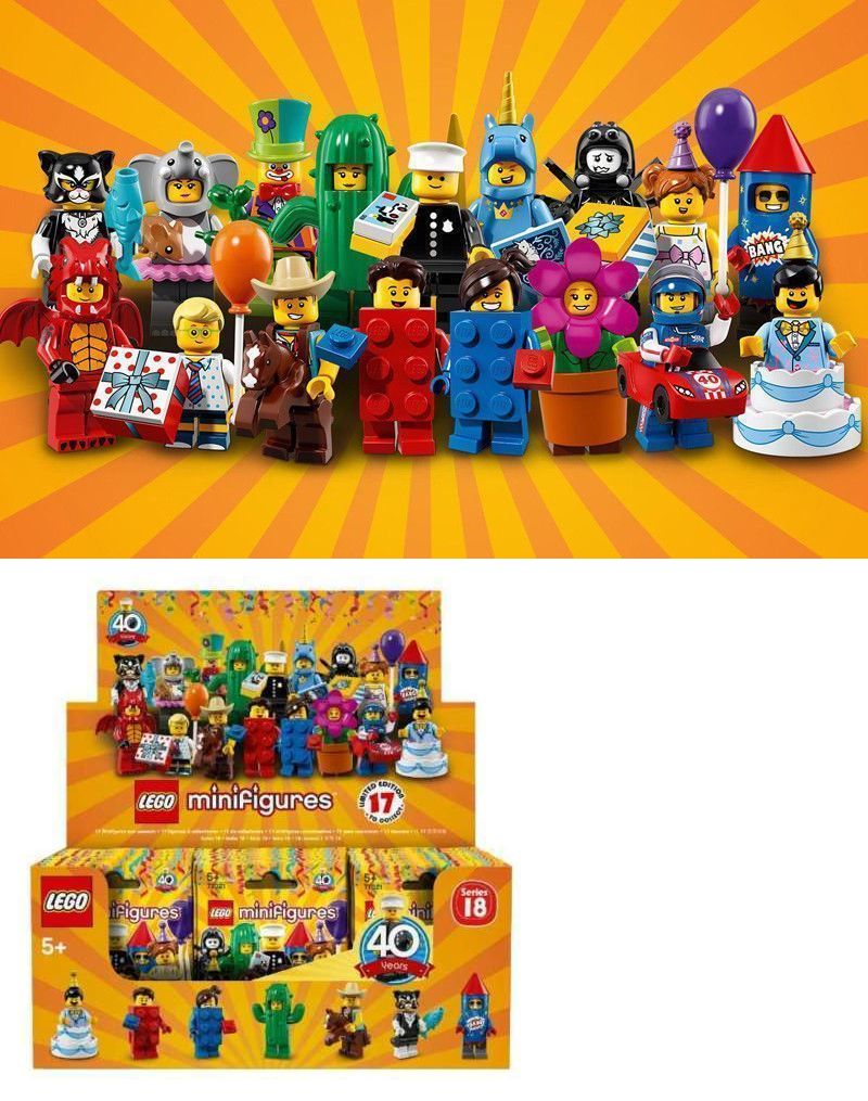 SERIES 18-40th ANNIVERSARY Lego Collectible Minifigures 71021 NEW in Package!