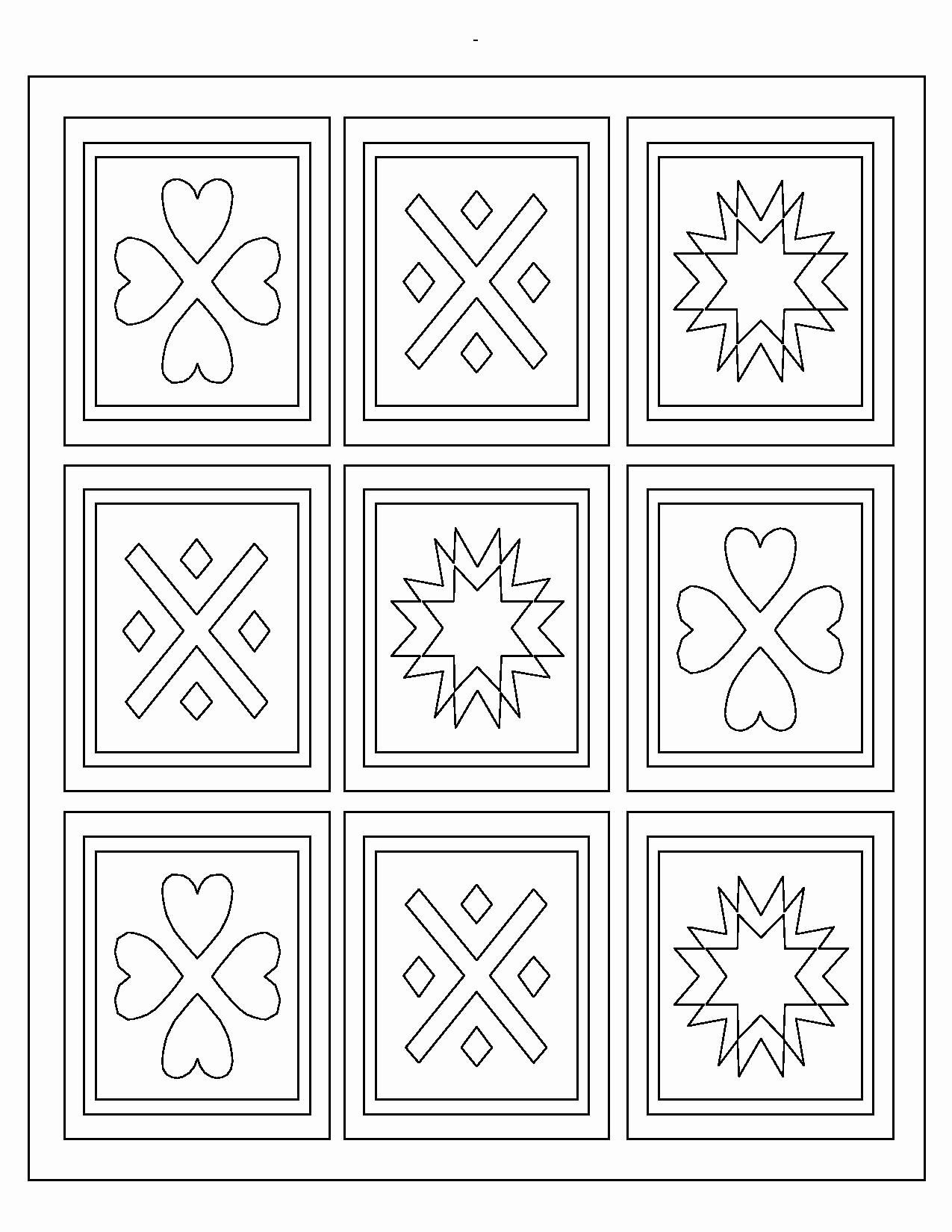 Free Printable Quilt Coloring Pages New Elegant Quilt Coloring Pages To Print Pattern Coloring Pages Coloring Pages Free Coloring Pages