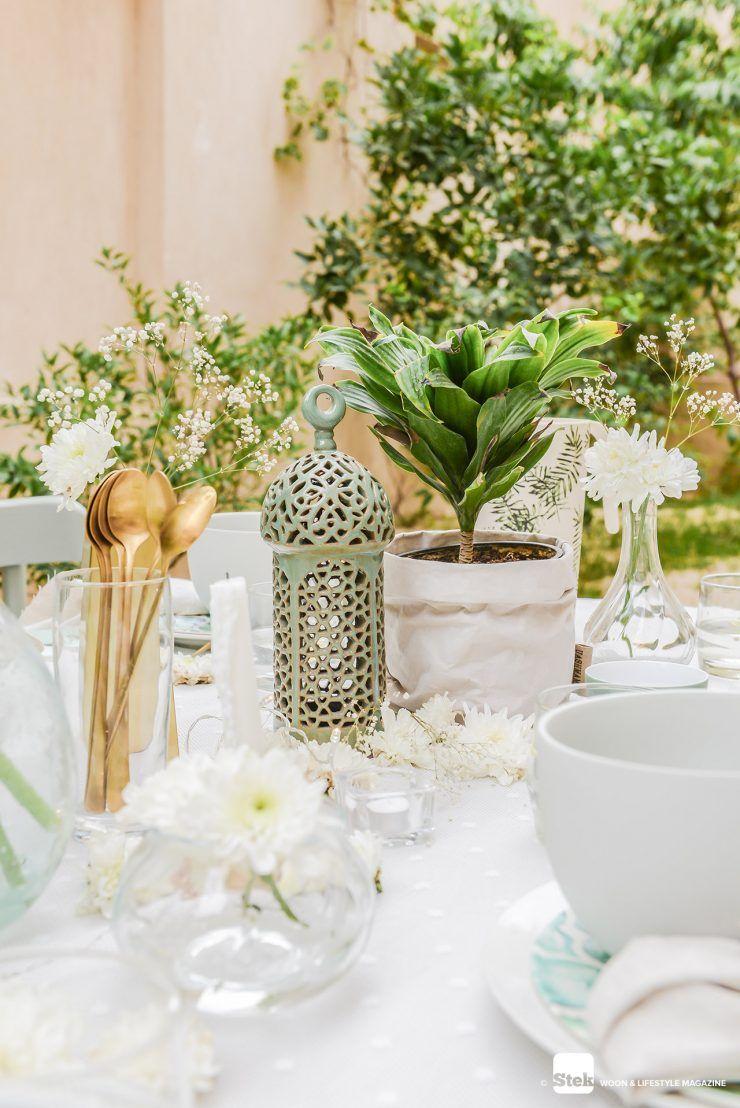 Summer party | Decoratie tips tafelstyling | Feest aankleding buiten