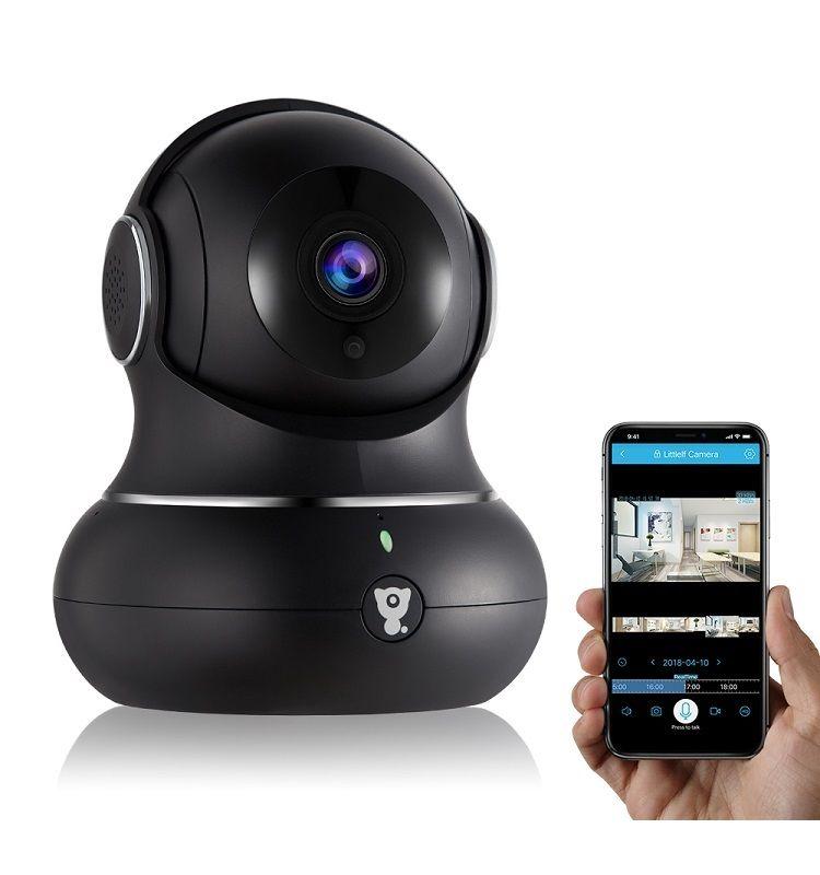 Wireless Indoor Home Security Camera 1080P Littlelf IP Pet Camera WiFi