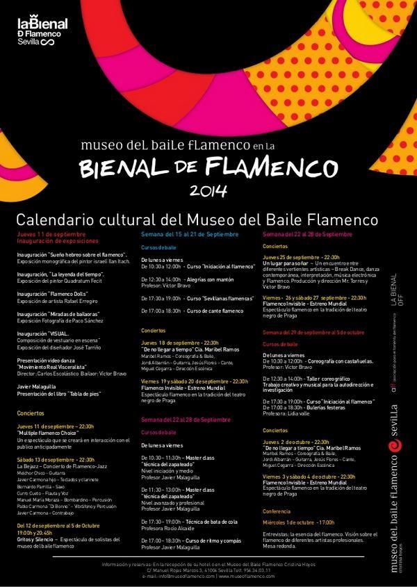 bienal del flamenco carteleria